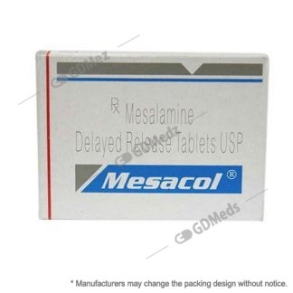 mesacol-400mg-Mesalamine Delayed Release Tabs